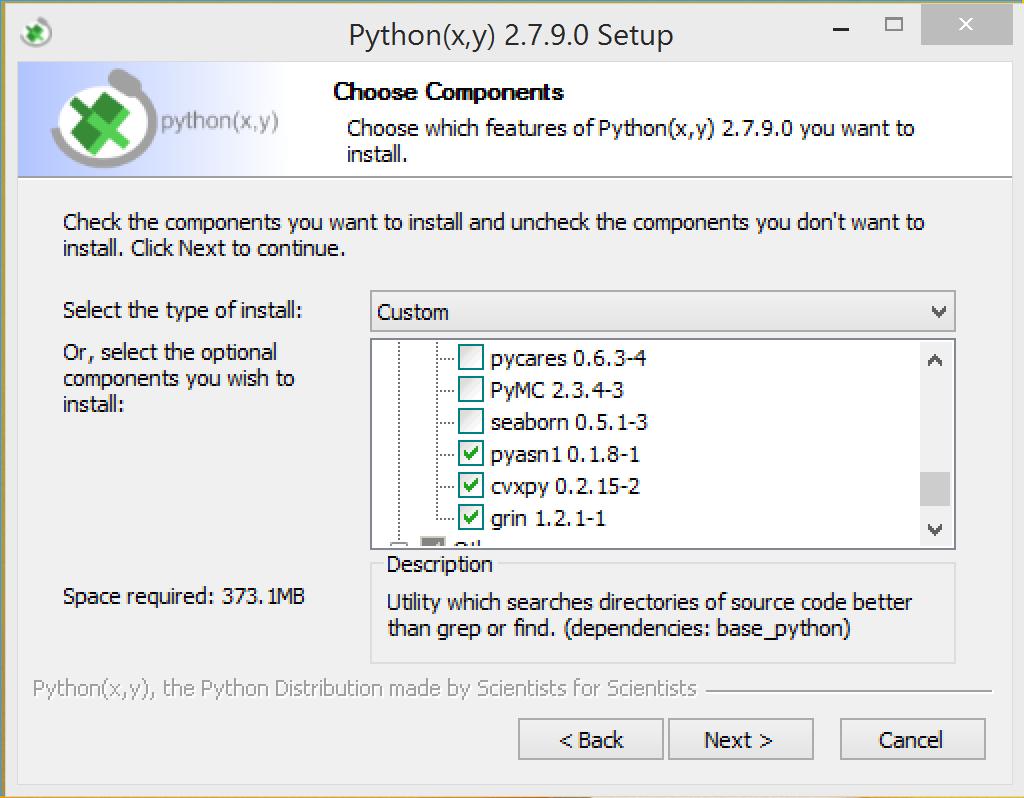 Install Guide — CVXPY 0 2 25 documentation